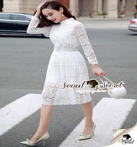 Seoul Secret Lovely Ladiest Lace Dress