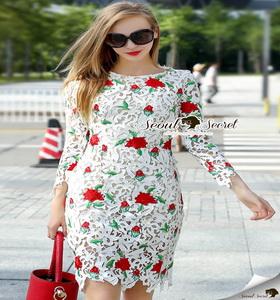 เสื้อผ้าแฟชั่นเกาหลีสวยหรูดูไฮด้วยเดรสทรงเข้ารูป สวยหรูดูดี