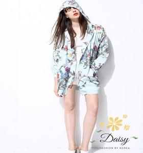 เสื้อพิมพ์เสื้อผ้าแฟชั่นเกาหลีสวยๆลายดอกไม้ผ้าพริ้วๆ