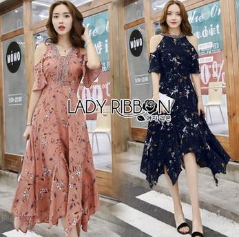 Lady Mandy Floral Cut-Out Dress