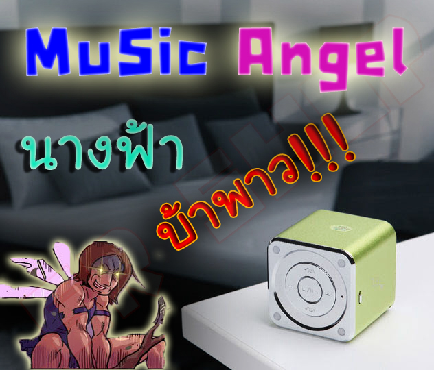 MD-07 Music Angel MP3 Sound Box With FM