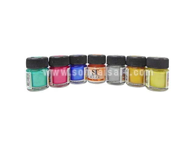 ST Acrylic Pearlescent 15 ml.