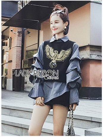 Lady Emma Studded Bird Cropped