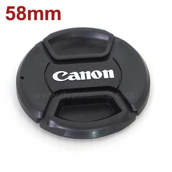 ฝาปิดหน้าเลนส์ Canon ขนาด 58mm