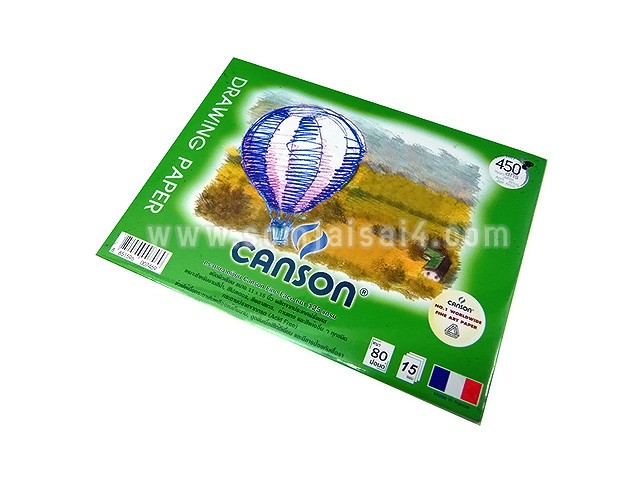 CANSON Fine Face 125 gsm.(ผิวเรียบ)