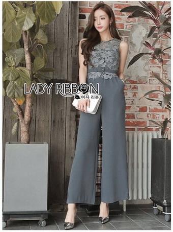 Lady Jumpsuit with Belt
