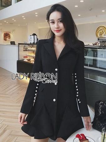 Smart Elegant Lady Ribbon Suit Dress