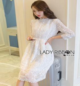 Lady Ribbon Iris Easy Sunday White