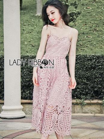 Lady Jane Baby Pink Lace Single Dress