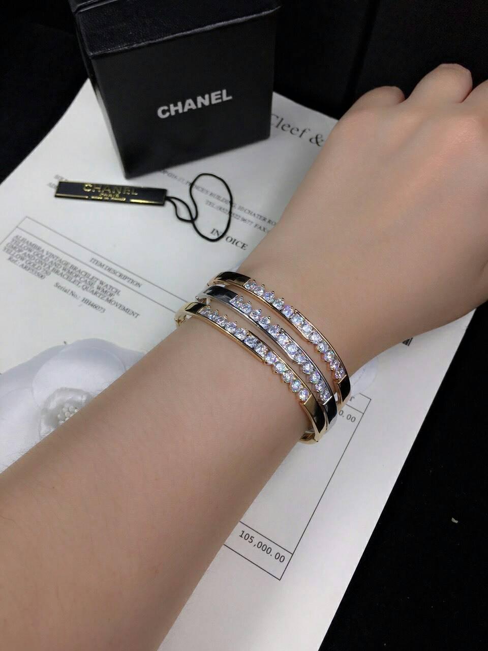 Diamond Bracelet กำไลเพชร CZ แท้ โคตรเหมือนแท้เลย กำไลเพชร CZ แท้ ดีไซส์เรียบหรูดูดีสวยมาก