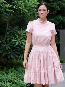 Embroidered Cotton Dress เดรสผ้าคอตตอน