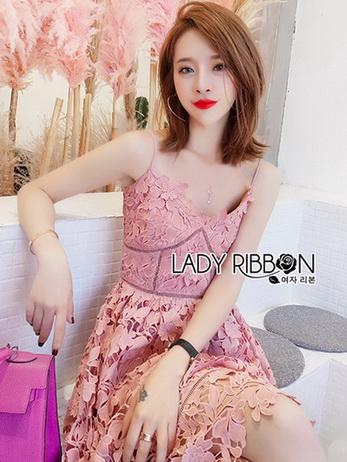 Lace Single Dress เดรสสายเดี่ยว