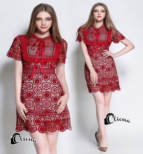 Cliona. Dress - ชุดเดรสลูกไม้นิ่ม