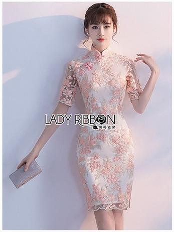 Pastel Lace Dress เดรสผ้าลูกไม้สีพาสเทล
