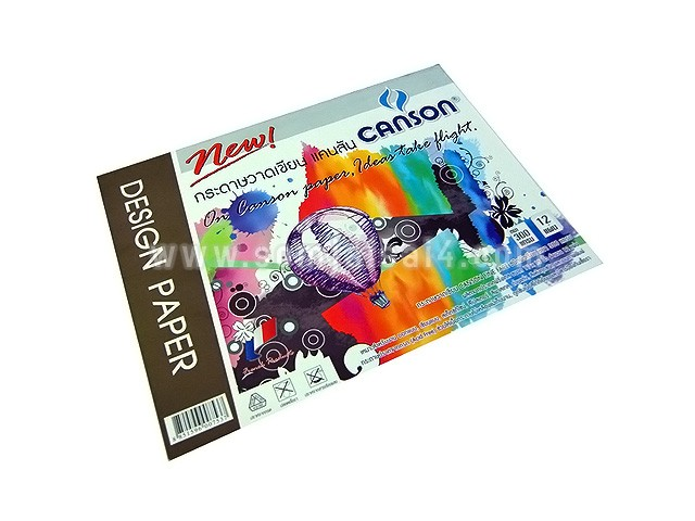 CANSON Fine Face 300 gsm. ผิวเรียบ