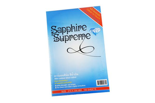 คาร์บอนฟิล์มสีน้ำเงิน Sapphire Supreme