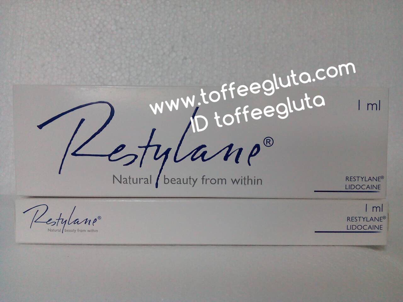 restylane / Perlane lidocaine ( ผสมยาชา )