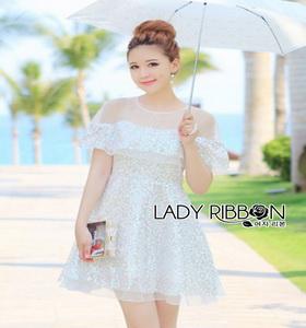 Lady Ribbon Mini Dress