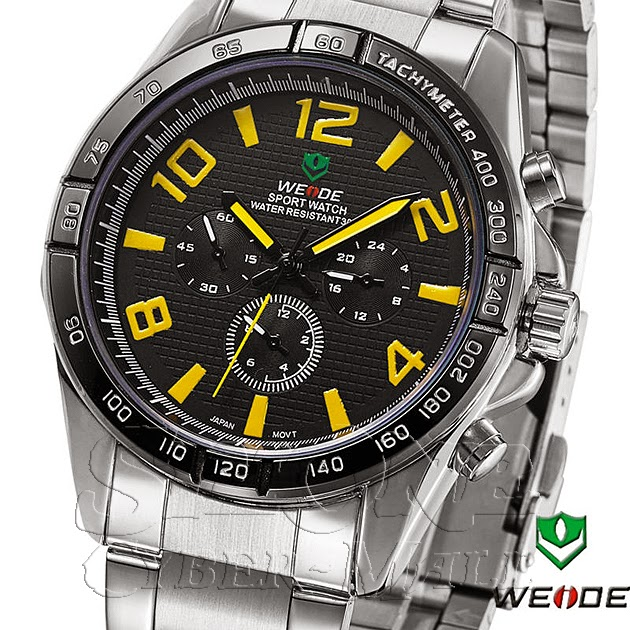 WEIDE – WH-2303-5: Quartz Analog Sports Watch