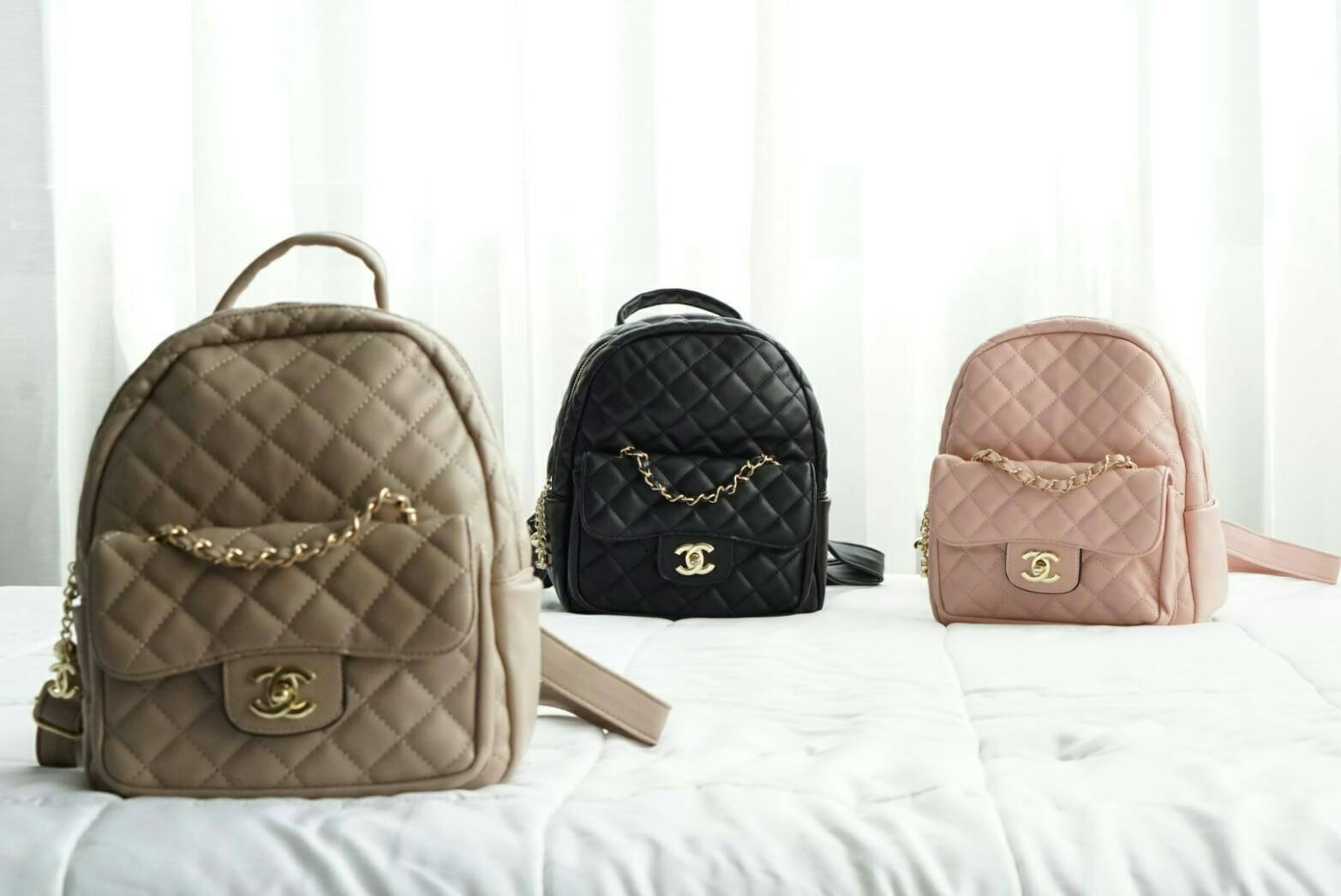 *Chanel Backpack Lady Size*