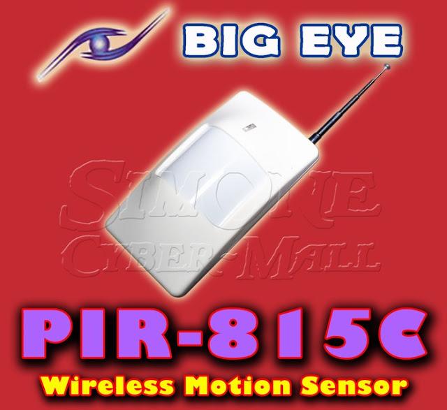 BIG EYE PIR-815C Wireless Motion Sensor