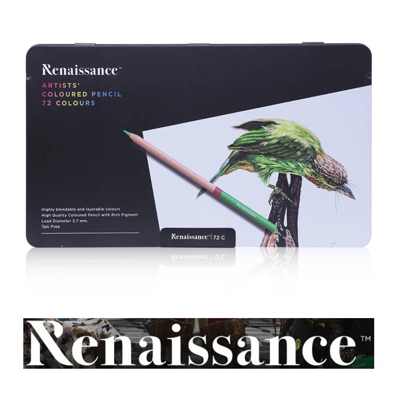 Renaissance Artists' 72 Coloured Pencil