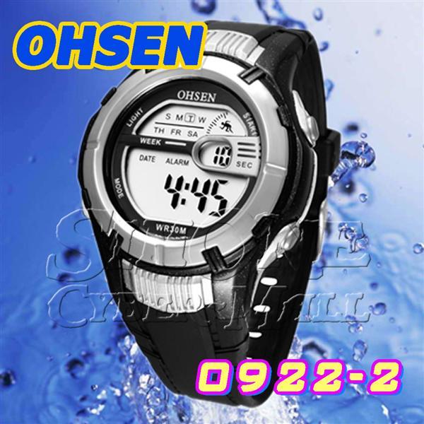 OHSEN – 0922-2 : Digital Alarm / Chronograph Sports Watch