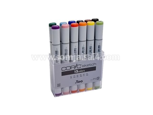 COPIC sketch 12 colors