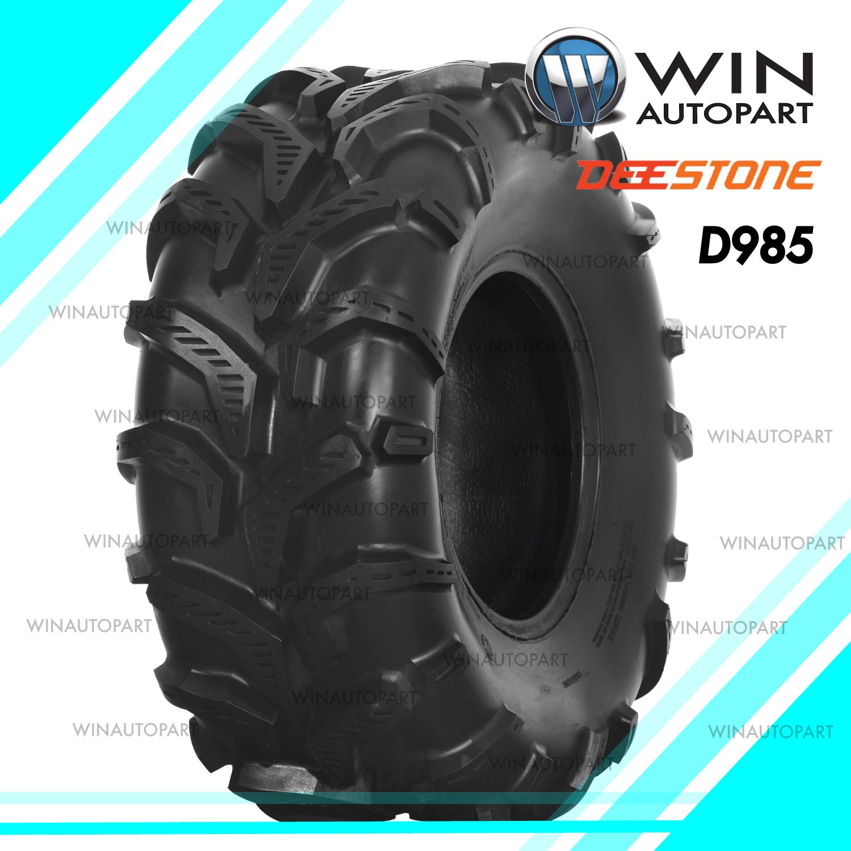22.5X12.00-9 ยี่ห้อ DEESTONE รุ่น D985 TL ยางรถเอทีวี (ATV)