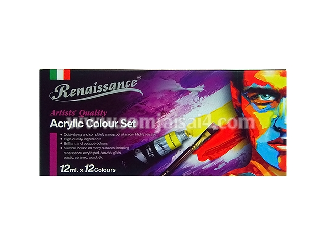 Renaissance Acrylic Colour Set