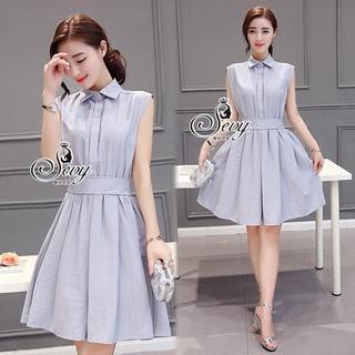 Sevy Casual Classic V Collar Sleeveless Dress Type: Dress