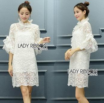 Lady Ann Boleyn Modern Vintage Lace Dress
