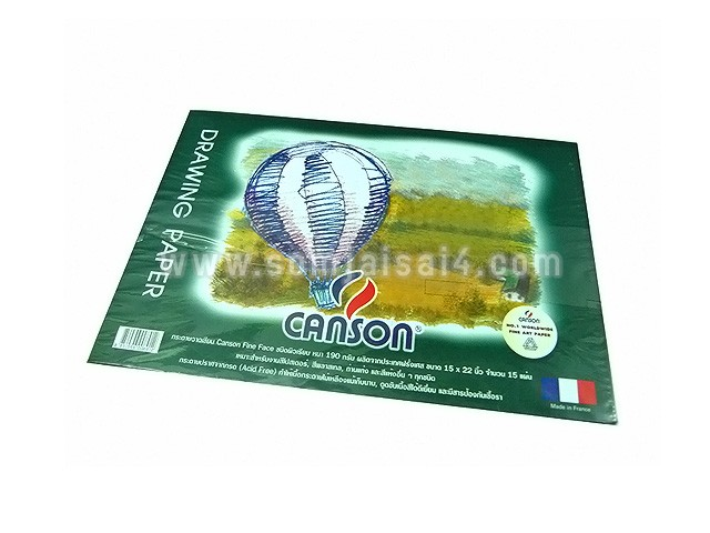 CANSON Fine Face 190 gsm.