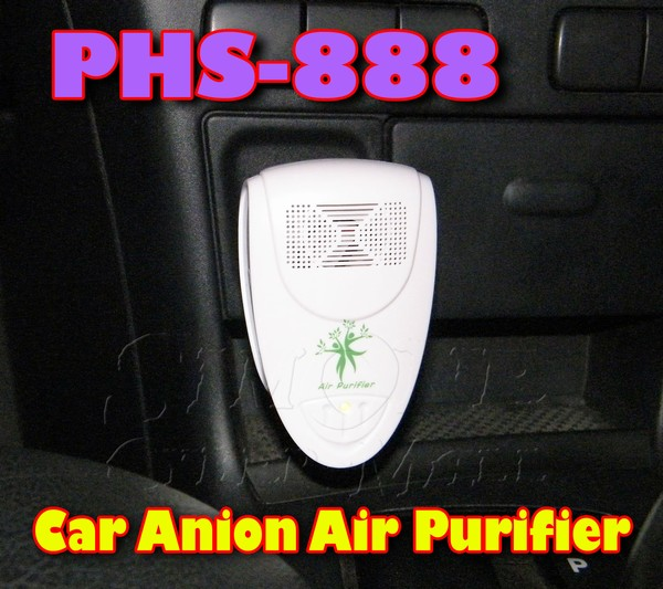 PHS-888 Car Anion Air Purifier / Car Oxygen Bar