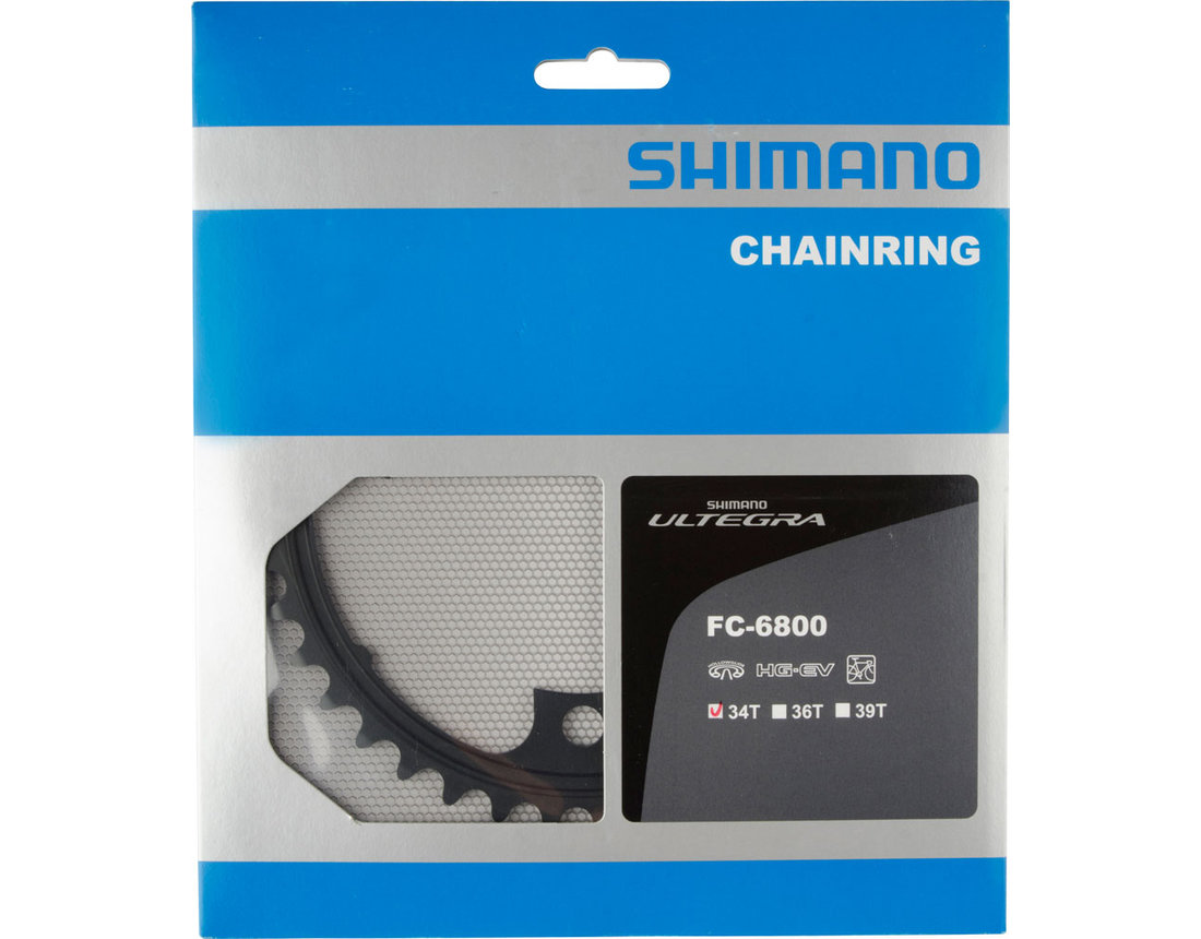 ใบจาน Shimano Ultegra FC6800 34T 11SPD