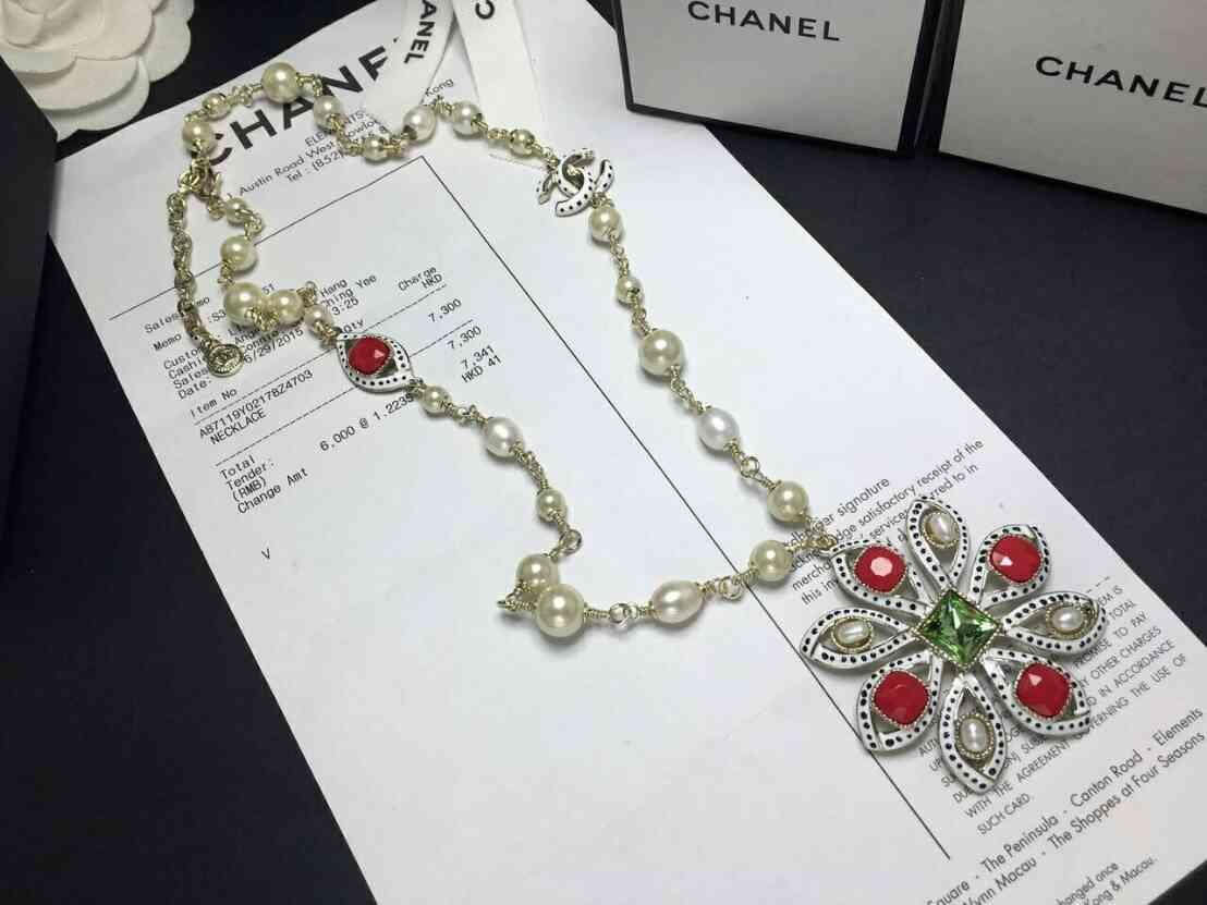 เข็มกลัด & สร้อยคอ & กำไล cuff งานใหม่ล่าสุดจาก Chanel คะ งานรุ่นนี้เป็นงานเกรด Super Hi-End งานเกรดดีที่สุด
