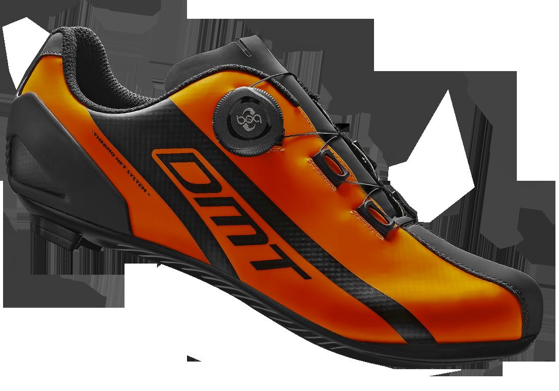 รองเท้าเสื้อหมอบ DMT R5 สีส้ม