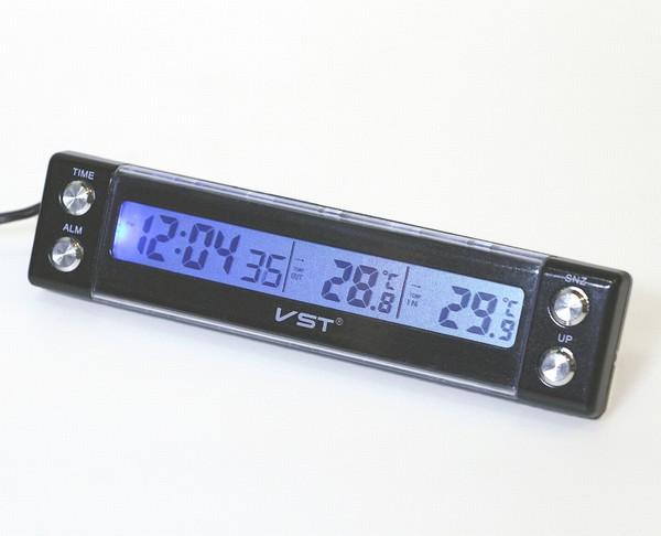 VST7036 นาฬิกาปลุกพร้อมเทอร์โมมิเตอร์