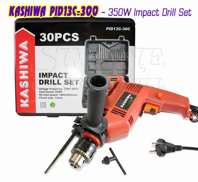 KASHIWA PID13C-300 - 350W Impact Drill Set