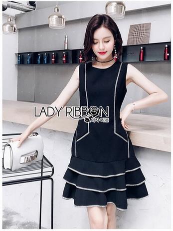Lady Daria Minimal Chic Little Black Dress
