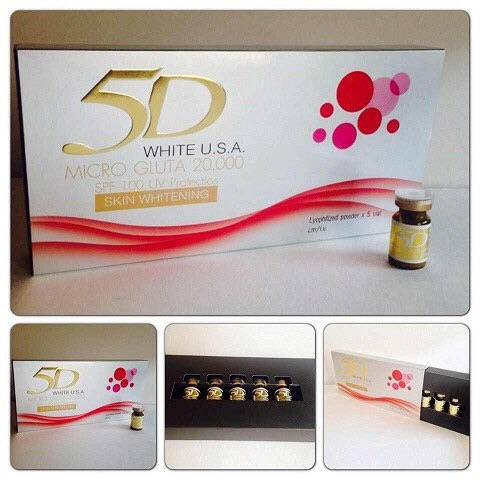 5 D White Micro Gluta 20,000 ( usa)