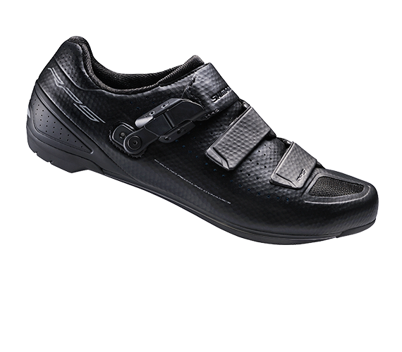 รองเท้าจักรยานเสือหมอบ Shimano RP5 พื้นคาร์บอน สีดำ