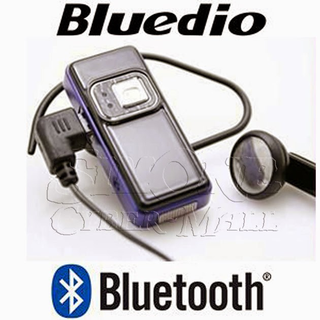 BLUEDIO AVF2 Stereo A2DP Bluetooth Earset