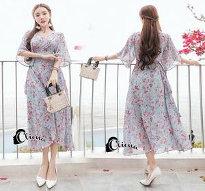 ชุดเดรสเกาหลีแนวเสื้อคลุม