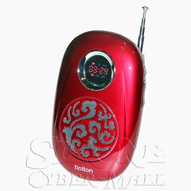 Rolton W505 Mini Portable FM Radio / MP3 Player