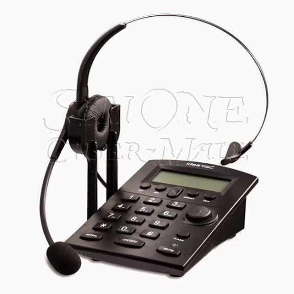 HION DT60 Headset Telephone + หูฟัง Headset V201T