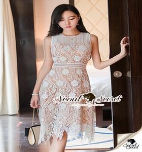 เสื้อผ้าแฟชั่นเกาหลีเดรสสวยหรู ทรงสวยด้วยเดรสทรงเข้ารูป