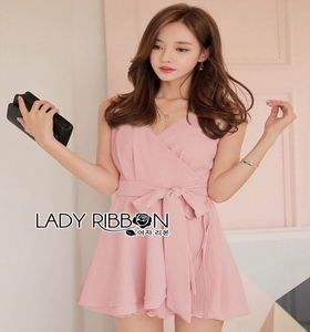 Lady Ribbon Poppy Feminine Baby Pink Ribbon