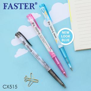 ปากกา Faster CX515 (น้ำเงิน)