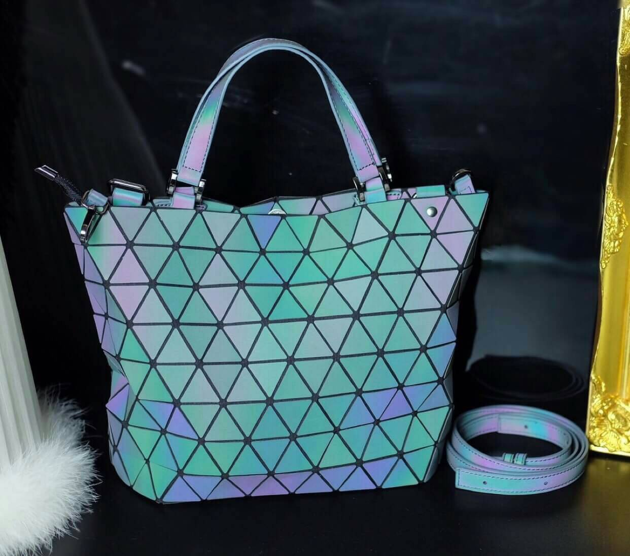 *ssey Miyake Crystal GLOW IN THE DARK*